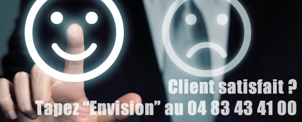 Satisfaction client Envision