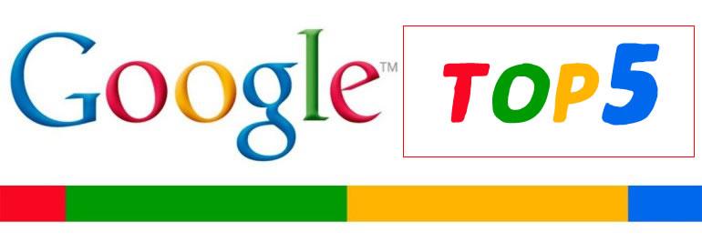 Google Top5