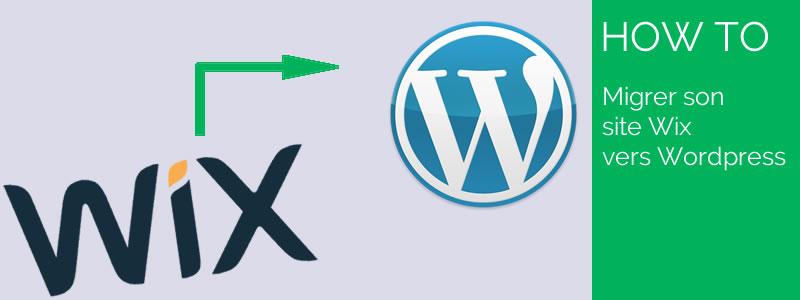 Passer wix vers wordpress
